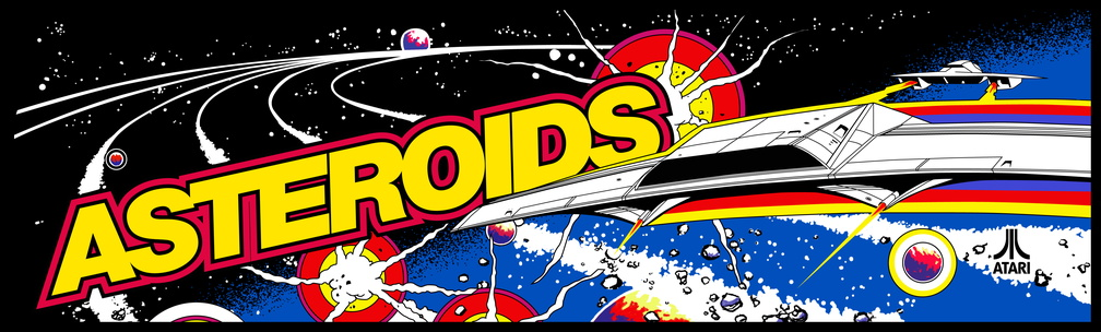 asteroids marquee recreation