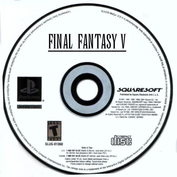 final fantasy anthology final fantasy v