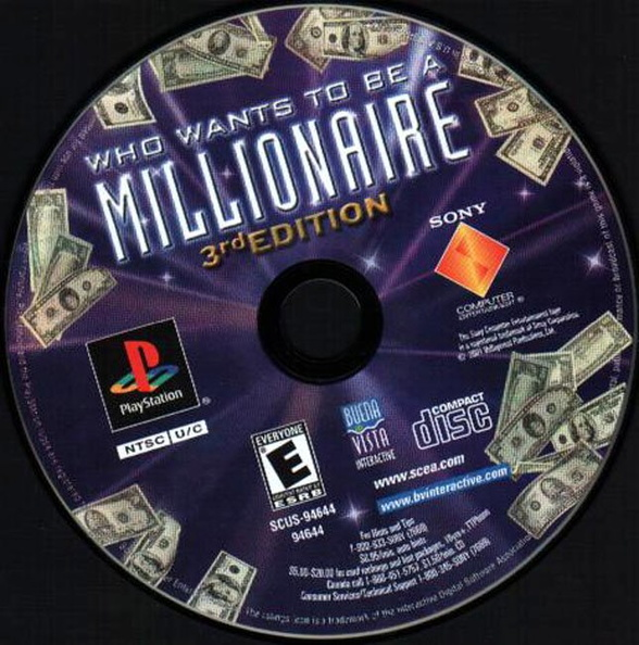 Who Wants To Be A Millionaire: 3rd Edition