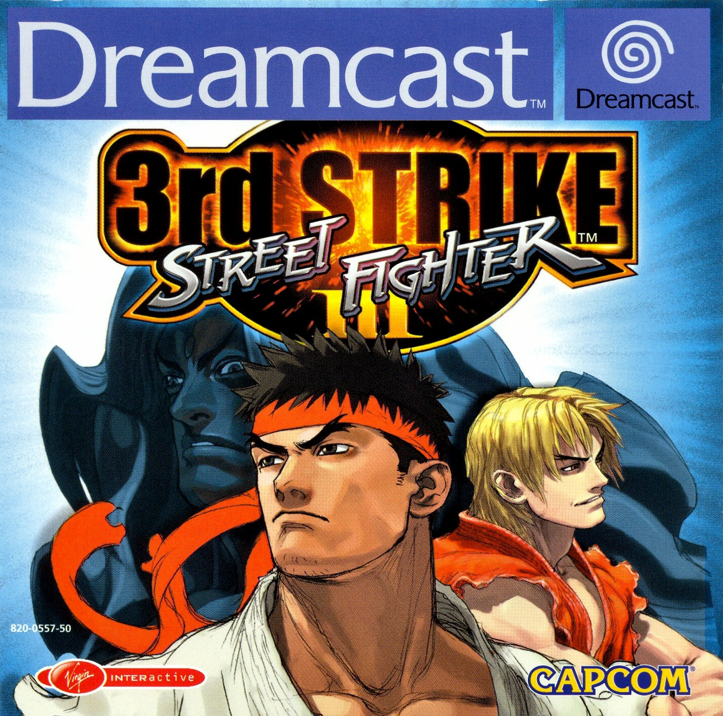 Street-Fighter-III---3rd-Strike-PAL-DC-front - Street-Fighter-III