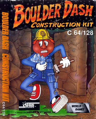 Boulder dash construction kit for atari 8-bit - gamefaqs